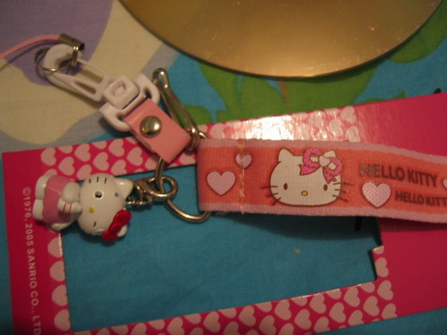 HELLO KITTY CAMERA PHONE STRAP CANON CELL PHONE accessory decorative collectible