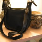 AUTHENTIC GENUINE COACH JANICE LEGACY BLACK WOMEN'S PURSE HANDBAG BAG #11