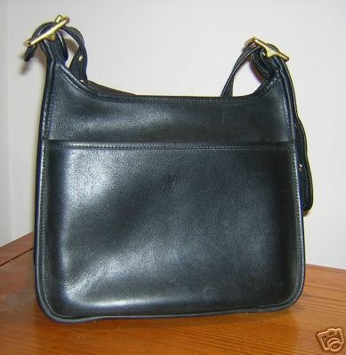 AUTHENTIC BLACK JANICE LEGACY zip BIG COACH WOMEN'S PURSE BAG HANDBAG #10