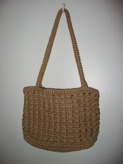 SUMMER BEACH HANDBAG WOMEN'S PURSE ACCESSORY BROWN WOVEN LIKE THE SAK