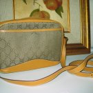 2.	AUTHENTIC GUCCI BROWN SIGNATURE - women&#39;s leather purse handbag bag CANVAS