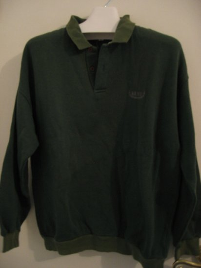 TOP CLOTHES SWEATER SWEATSHIRT LAS VEGAS reno green L men's