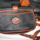 AUTHENTIC DOONEY & BOURKE dooney&bourke BLACK PURSE WOMEN'S BAG HANDBAG LEATHER GENUINE
