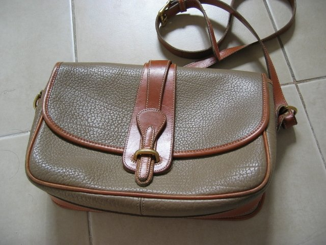 AUTHENTIC DOONEY & BOURKE dooney&bourke COFFEE BROWN WOMEN'S LEATHER BAG HANDBAG PURSE