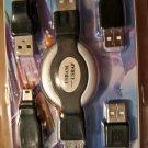 TRAVEL COMPUTER USB CABLE digital video camera mobile phone mp3 pda scanner mobile hard disk