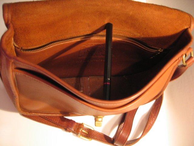 SOLD - COACH CITY BAG BROWN handbag LEATHER WOMEN'S PURSE BAG ACCESSORY