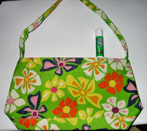 mint green CANVAS FLORAL TOTE WOMEN'S ACCESSORY BAG PURSE HANDBAG SO CUTE makeup bag