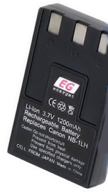 NB-1LH nb-1L LI-ION lithium ion BATTERY CANON S400 S410 S500 digital CAMERA powershot elph ixus