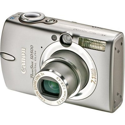 Canon Powershot SD550 7.1MP Digital Camera with 3x Zoom elph powershot photo electronic