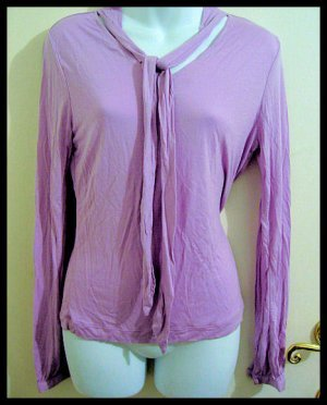 merona purple dress shirt sz M light women's clothes tops WORK OFFICE DRESS SHIRT