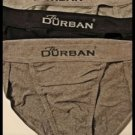 NEW THE DURBAN LOT OF 3 TANGA BRIEF SEX UNDERWEAR MEN'S ACCESSORY PANTS SHORTS CLOTHES