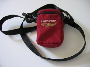 SOLD - TAMRAC DIGITAL CAMERA BAG FOR CANON digital elph sd s models CASE photo accessories