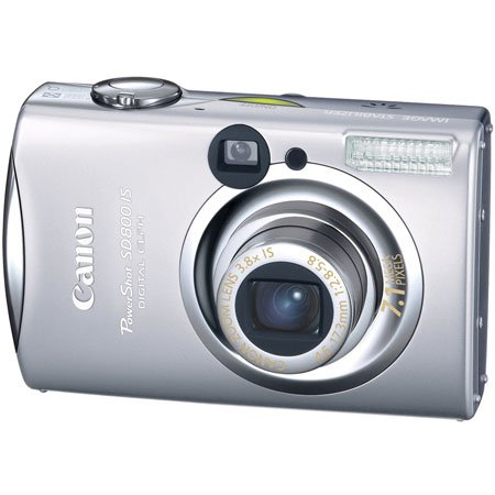 "Canon Powershot SD800 IS Digital Elph Camera 7.1 megapixel 2.5"" LCD Screen"