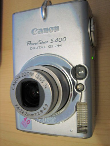 CANON S400 4.0MP elph digital camera powershot ixus electronic photo hobby home garden