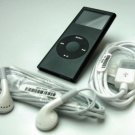 8GB BLACK APPLE iPOD NANO 2,000 SONGS MAC PC electronic mp3 music christmas gift
