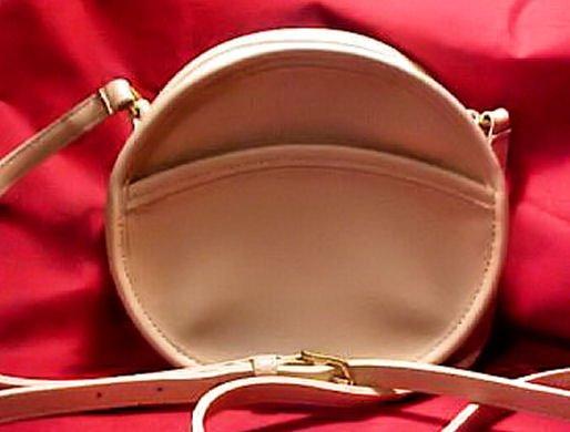 AUTHENTIC COACH IVORY WHITE NEW CONDITION LEATHER WOMEN'S BAG HANDBAG PURSE ROUND SHOULDER