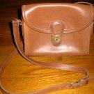 AUTHENTIC COACH BROWN vintage classic BAG PURSE HANDBAG GENUINE LEATHER WOMEN'S ACCESSORY