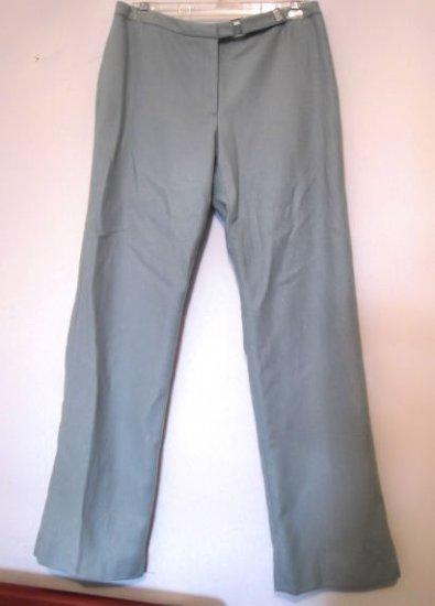 J Crew JCREW Seafoam Herringbone Wool Blend Pants 6 women's soft aqua green suit dress