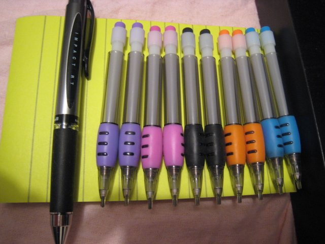 MINI ME MECHANICAL PENCIL PENCILS PEN HOME OFFICE SUPPLY WRITING CLICK