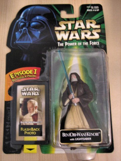 BEN OBI-WAN KENOBI LIGHTSABER STAR WARS TOY KIDS COLLECTOR'S ITEM DECORATIVE FIGURINE COLLECTIBLE