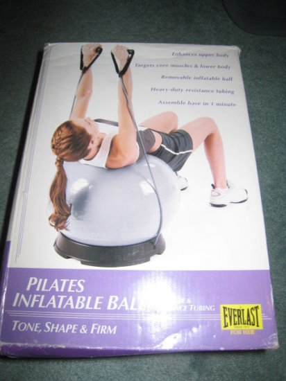 PILATE PILATES BALL STAND EVERLAST YOGA FITNESS EXERCISE HEALTH