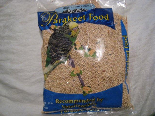 LOT 3 BAGS PARAKEET BIRD BIRDSEED BIRD FOOD PET HOME GARDEN HOBBY 1.75 LBS X 3