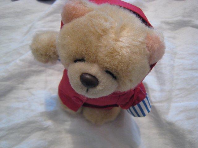 #1 vintage teddy bear DOLL STUFF ANIMAL TOY KIDS CHILDREN HOME GIFT BIRTHDAY