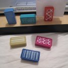1 pair DOMINO MAGNET MAGNETS PAPER TYPING HOLDER OFFICE SUPPLIES