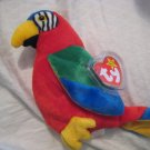 #11 colorful parrot bird BEANIE BABY DOLL STUFF ANIMAL TOY KIDS CHILDREN HOME GIFT BIRTHDAY