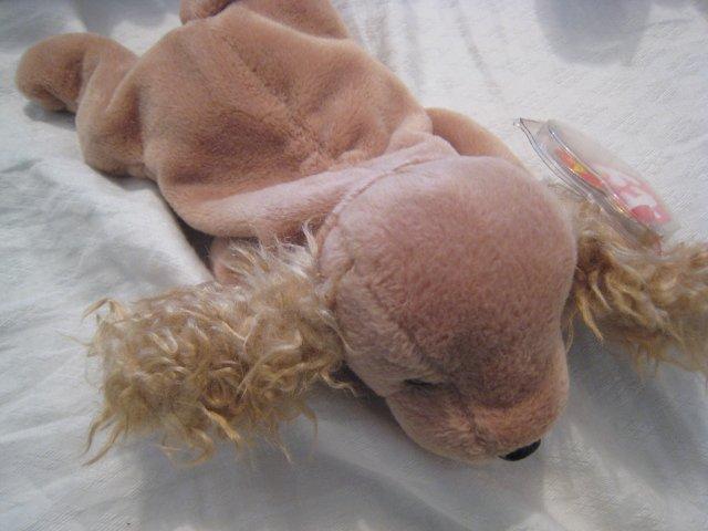 #12 cocker spaniel small dog BEANIE BABY DOLL STUFF ANIMAL TOY KIDS CHILDREN HOME GIFT BIRTHDAY
