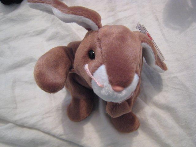 #23 bunny rabbit BEANIE BABY DOLL STUFF ANIMAL TOY KIDS CHILDREN HOME GIFT BIRTHDAY