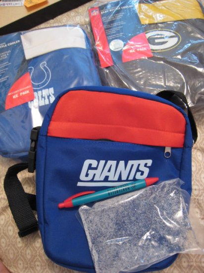 GIANTS NFL OFFICIAL LICENSED FOOTBALL SPORTING SPORTS mini 9 dell laptop bag