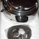 Vintage 1950s KENMORE SEARS Chrome Waffle Iron Baker KITCHEN HOME ACCESSORY APPLIANCE ELECTRONIC