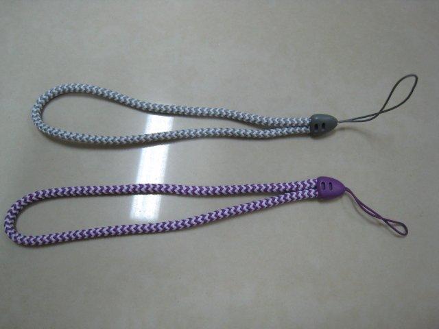HAND strap purple gray snake lot 2 CELL PHONE DIGITAL CAMERA IPOD I-POD STRAP accessory