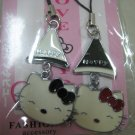 happy HELLO KITTY HAND strap charm CELL PHONE DIGITAL CAMERA IPOD I-POD accessory PURSE