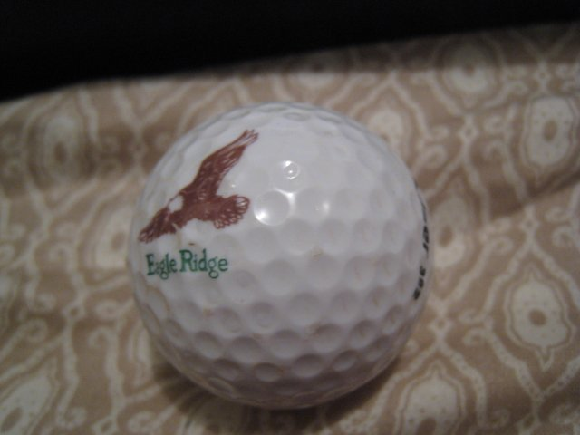 EAGLE RIDGE - COLLECTOR'S GOLF BALL SPORTS MEMORABILIA DECORATIVE COLLECTIBLE HOME HOBBY