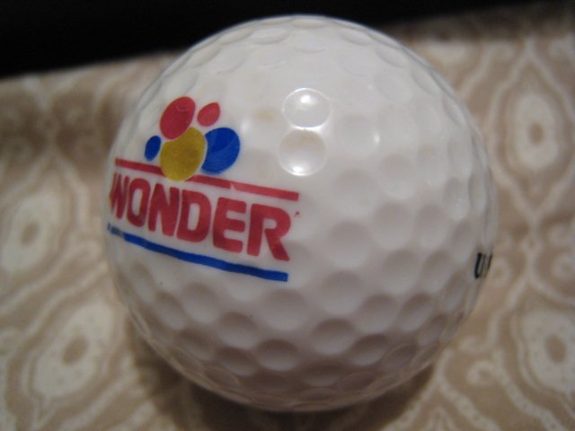 WONDER BREAD - COLLECTOR'S GOLF BALL SPORTS MEMORABILIA DECORATIVE COLLECTIBLE HOME HOBBY