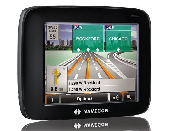 NAVIGON 2100 NAVIGATION GPS SYSTEM Portable 3D car accessory travel gadget