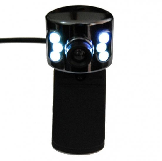 LAPTOP USB WEBCAM & MICROPHONE MIC & AUTO SENSOR LIGHT ELECTRONIC COMPUTER ACCESSORY chat skype