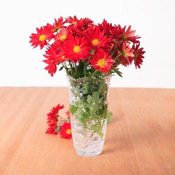 PARTY SUPPLY LOT 24 FLOWER VASES VASE ARRANGEMENT WEDDING BIRTHDAY CRYSTAL LIKE PLASTIC