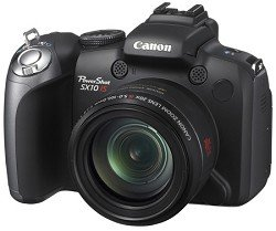 CANON POWERSHOT SX10 IS 10MP ELPH PHOTO ELECTRONICS DIGITAL CAMERA