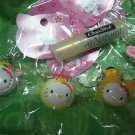 tiger HELLO KITTY CHARM PHONE ACCESSORY IPOD key CHAIN NECKLACE knitting crochet stitch markers