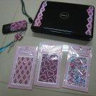 HEART BLING DIAMOND STICKERS CELL IPOD IPHONE PHONE MP3 LAPTOP BLACKBERRY ACCESSORY DECOR ELECTRONIC