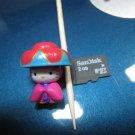 kung fu HELLO KITTY CHARM decorative figurine collectible gift cartoon kids figure doll