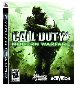 Call of Duty 4: Modern Warfare Game of The Year for PC dvd-rom software xps game playstation 3