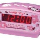 Hello Kitty AM/FM Alarm Clock Radio PINK SANRIO cute gift birthday