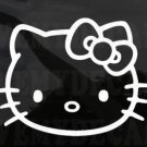 HELLO KITTY big face car decal sticker window house accessory gift fun family home decor