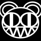 radiohead music bear car decal sticker window house accessory gift fun family home decor