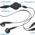 B Retractable Headset w/Mic for PC Laptop iPod Skype MSN accessory travel