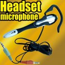 E Headset Microphone Earphone MIC For Skype MSN PC Laptop msn accessory travel